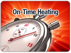 On-Time Heating